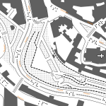 ukázka mapy v měřítku 1:1200