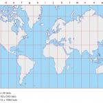 klad listů a počty mapových listů pro jednotlivá měřítka